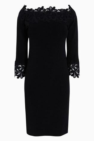 70cd97711f5d3d Buy Lace Bardot Dress from the Next UK online shop