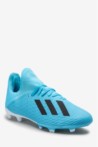Adidas Hardwired Blue X Firm Ground Junior Youth Football Boots