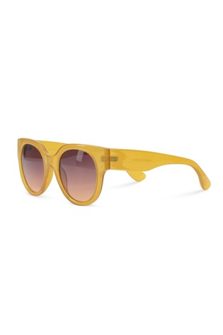 2a21a2c99eebeb Buy Oliver Bonas Yellow Preppy Round Sunglasses from Next Luxembourg