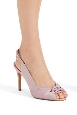 065bc0cf8f60 Buy Phase Eight Purple Rhia Knot Front Slingback Peep Toe Shoe from ...
