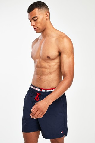 f952f9c43105d Buy Tommy Hilfiger Statement Waistband Swim Short from Next Italy