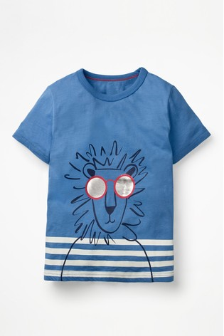 differently 800fa 569fd Boden Blue Cool Animal T-Shirt
