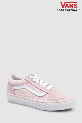0d7014ec2a90dc Buy Vans Pink Suede Old Skool from Next Ireland