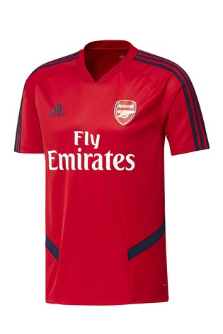 detailed look bf304 3d200 adidas Red Arsenal Football Club Training Jersey