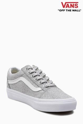 77931c3882734 Buy Vans Silver Glitter Old Skool from Next Slovakia