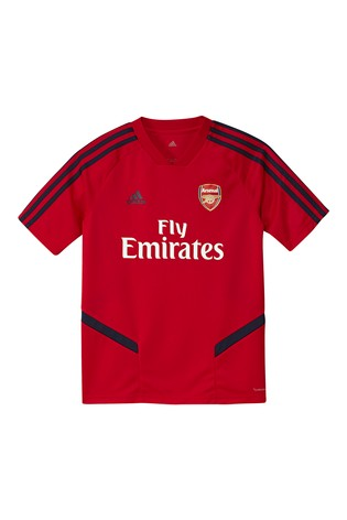 new style ac38d 09ece adidas Arsenal Red Training Jersey