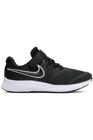 Buy Nike Run Black/White Star Runner