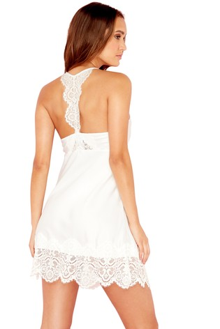52f897fe93 Buy B by Ted Baker Ivory Tie The Knot Bridal Chemise from the Next ...