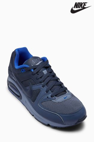 size 40 bd631 4e963 nike air max command navy grey