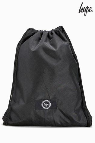 e9f2e4f0828c Hype. Black Drawstring Bag