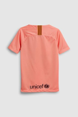 Buy Nike Pink FC Barcelona 2018 19 Stadium Third Jersey from Next ... 12c7f2785db