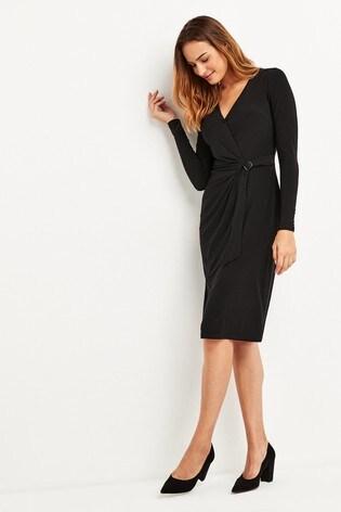 reasonably priced get cheap new authentic Buy Lauren Ralph Lauren® Casondra Wrap Dress from the Next UK ...