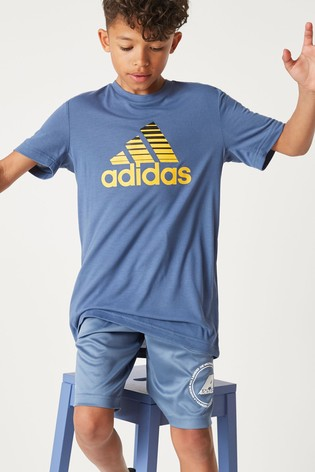 3b9cac0d0 Buy adidas Blue Training Prime T-Shirt from the Next UK online shop