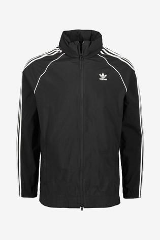 5b33b6287c1f43 Buy adidas Originals Black Superstar Windbreaker Jacket from Next Ireland