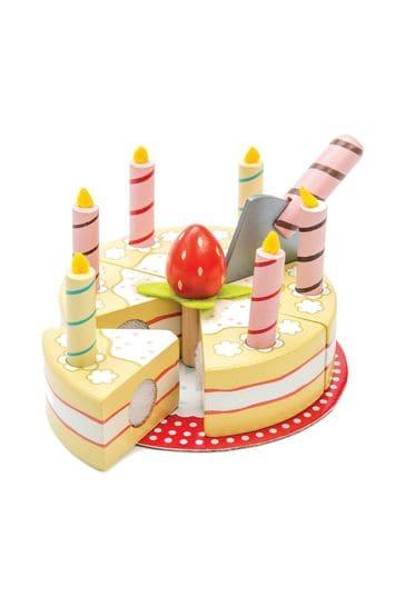 Fine Buy Le Toy Van Wooden Vanilla Birthday Cake From The Next Uk Funny Birthday Cards Online Drosicarndamsfinfo