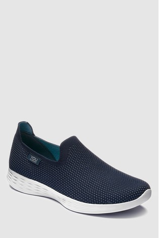 34b5b0372ffd Buy Skechers® You Define Low Profile Knit Slip-On from Next Gibraltar
