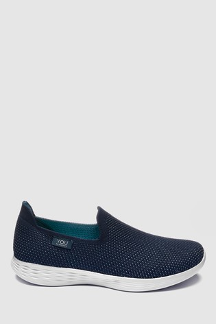 02ed71291e87 Buy Skechers® You Define Low Profile Knit Slip-On from the Next UK ...