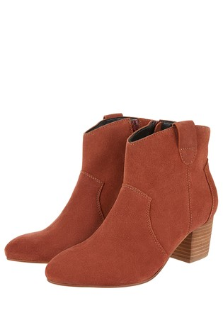883d58a3d24a Buy Monsoon Ladies Red Carling Casual Suede Ankle Boot from the Next ...