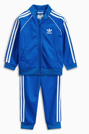 13faed919 Buy adidas Original Blue Baby Superstar Tracksuit from Next Cyprus