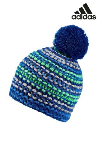 Buy adidas Blue Chunky Beanie from Next Netherlands b7f4d6b05b
