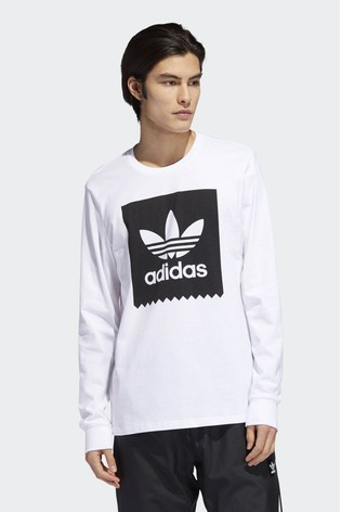 b7769fac Buy adidas Originals White Trefoil Logo Tee from the Next UK online shop