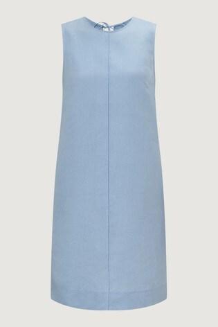 a0af57e771b Buy Jigsaw Blue Linen Mix Dress from the Next UK online shop