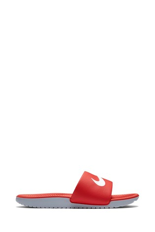 58c23e011da4 Buy Nike Red Kawa Slider Junior   Youth from the Next UK online shop