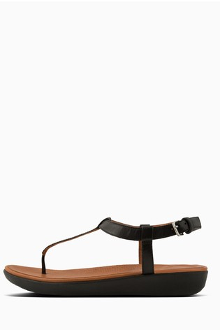 53b98c952 Buy FitFlop™ Leather Tia Toe Post Sandal from Next Kuwait
