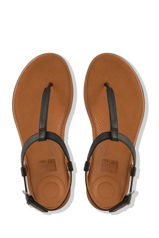 fa940cffbac2 Buy FitFlop™ Leather Tia Toe Post Sandal from the Next UK online shop