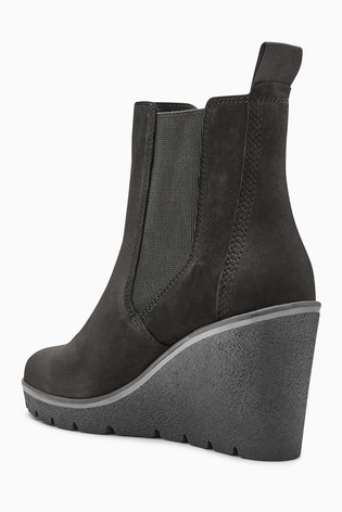 ee3629b5b4eb Buy Timberland® Black Paris Height Chelsea Wedge Boot from Next USA