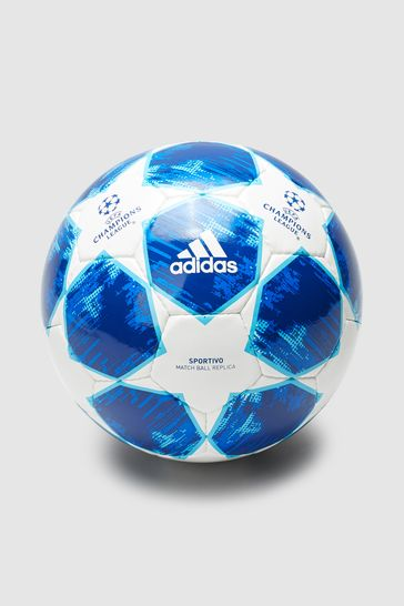 Buy Adidas Blue Champions League 18 Football From The Next Uk