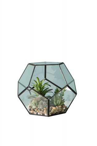 Buy Faceted Terrarium From The Next Uk Online Shop