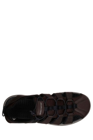 415388b6d611 Buy Skechers® Brown Melbo Journeyman 2 Fishermen Sandal With Bun ...