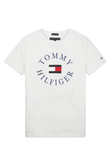 e9b0d5216c Kupte si Chlapecké tričko s kulatým výstřihem a s logem Tommy ...