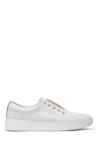 Buy Mint Velvet White Lila Star Trainer