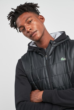 Next Lacoste Online Black Uk Sport Gilet Shop From The Buy vYwnaqdBa