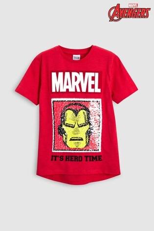 Kupte si Tričko s měňavými flitry Marvel® Avengers (3-16 let) from ... 5560976e7d