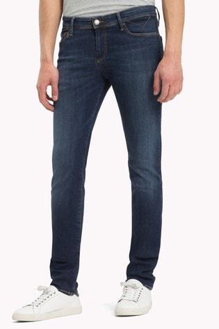 f37a90513 Buy Tommy Jeans Skinny Simon Dynamic Dark Stretch Jean from the Next ...