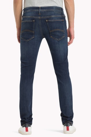 dce4290b Buy Tommy Jeans Skinny Simon Dynamic Dark Stretch Jean from the Next ...