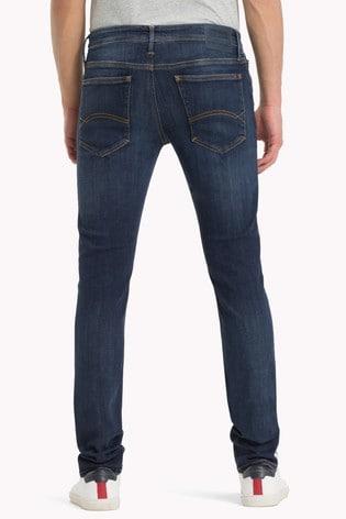 2afe641b Buy Tommy Jeans Skinny Simon Dynamic Dark Stretch Jean from the Next ...