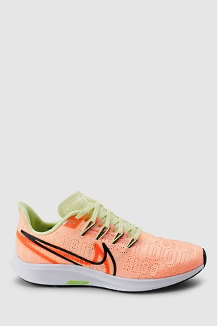 pretty cool amazing price good looking Nike Run Pink Air Zoom Pegasus 36 Rise Trainers