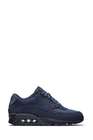 Buy Nike Air Max 90 Leder Weiß Trainers [Nike Air Max