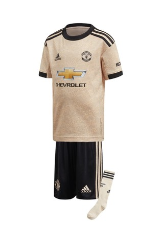 timeless design 66e4c 90dbf adidas Cream Manchester United Football Club 2019/2020 Away Kit