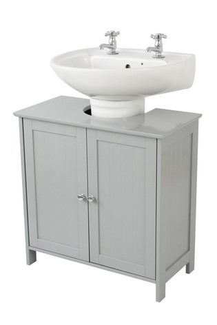 Fantastic Lloyd Pascal Grey Painted Under Sink Storage Download Free Architecture Designs Embacsunscenecom
