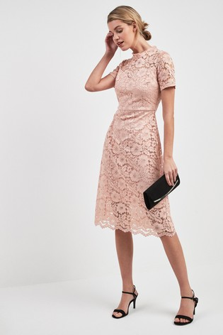 half price outlet store sale cheaper Blush Lace Dress