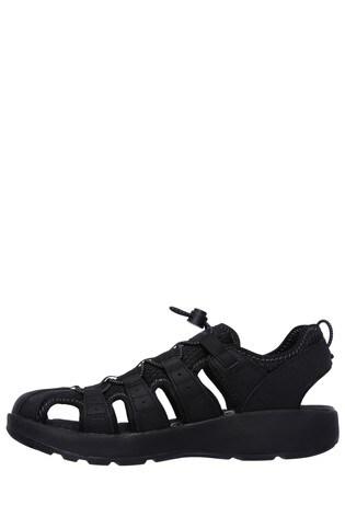 382f231b7b89 Buy Skechers® Black Melbo Journeyman 2 Fishermen Sandal from the ...