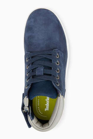 Buy Timberland Navy Leather Davis Square Chukka Boot From The Next   Timberland Navy Leather Davis Square Chukka Boot