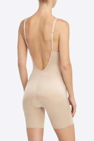 ccfc3a4e8f Buy SPANX® Suit Your Fancy Low Back Mid Thigh Bodysuit from the Next ...