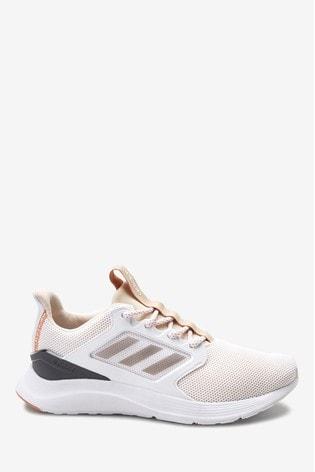 adidas Run White/Grey Falcon X Trainers