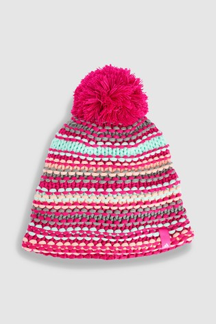 Buy adidas Pink Chunky Beanie from Next Ireland aa374c8ce3